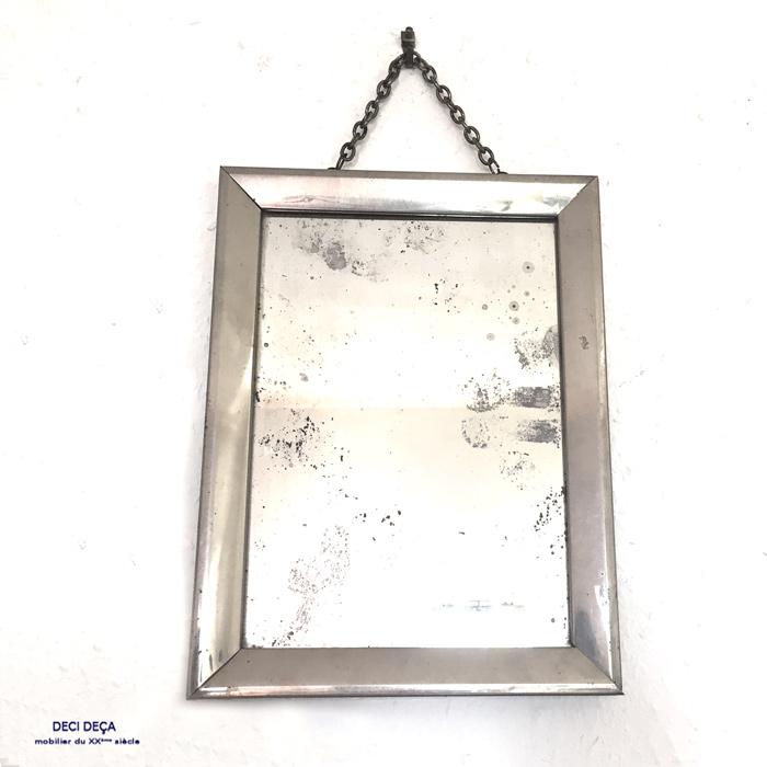 miroir barbier metal de ci de a design meubles et objets du 20 me si cle. Black Bedroom Furniture Sets. Home Design Ideas