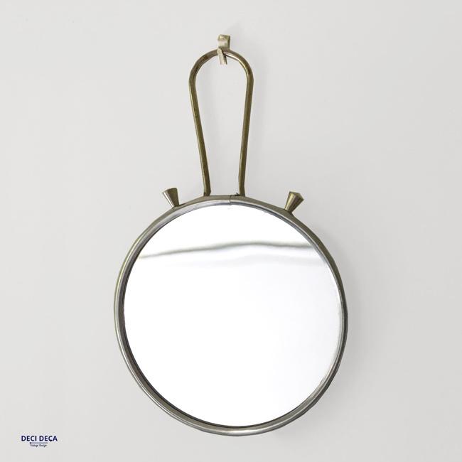 miroir barbier vintage de ci de a design meubles et objets du 20 me si cle. Black Bedroom Furniture Sets. Home Design Ideas
