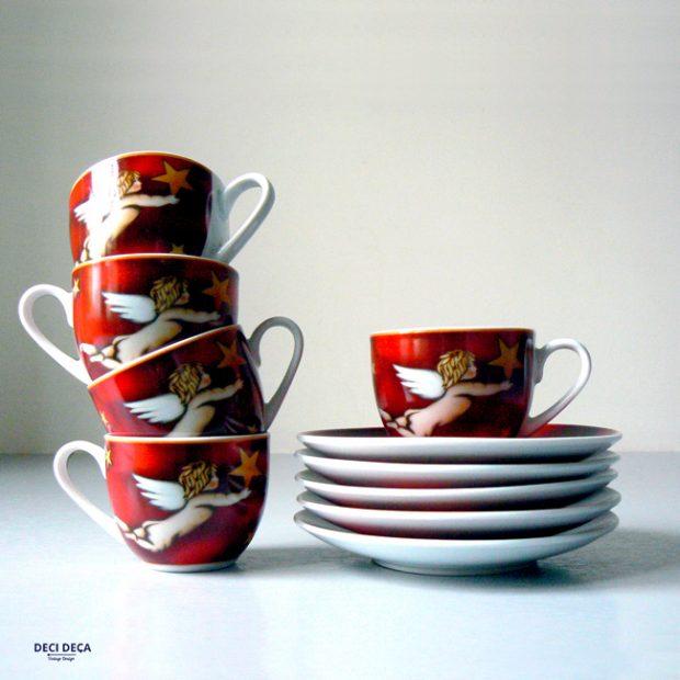 tasses vintage Ritzenhoff