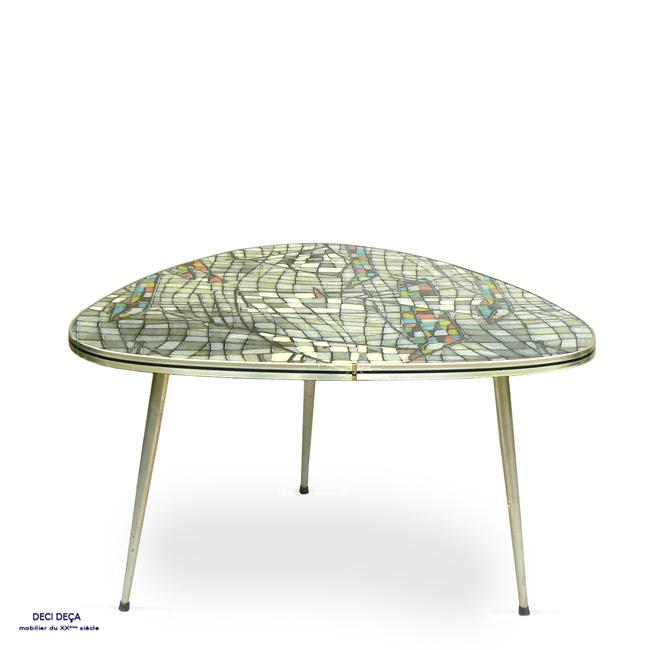 table basse tripode haricot de ci de a design meubles. Black Bedroom Furniture Sets. Home Design Ideas