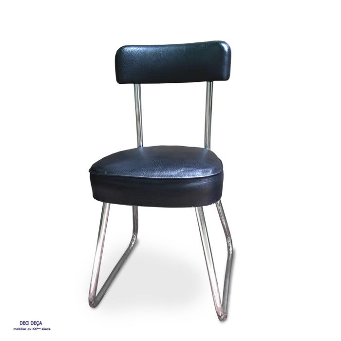 chaise de bureau strafor de ci de a design meubles et objets du 20 me si cle. Black Bedroom Furniture Sets. Home Design Ideas